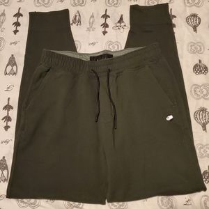 Abercrombie Green Soft Stretch Joggers XS
